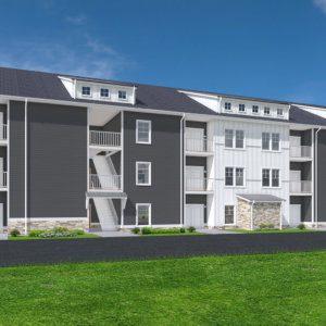 marietta riverside foundry apartments exterior gray