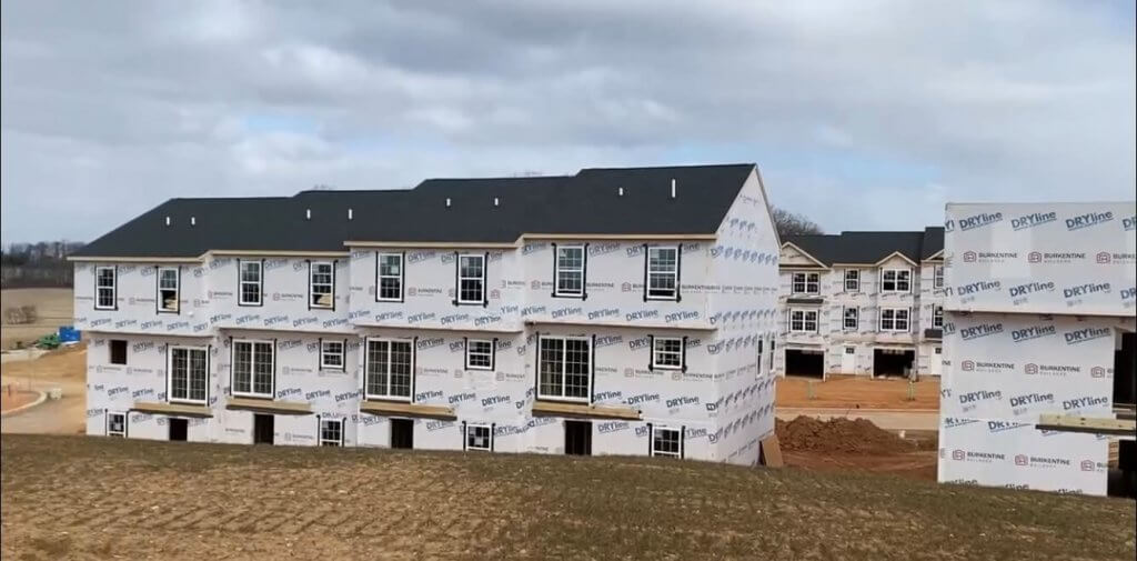townhomes under construction in dallastown pa
